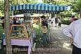 Bauernmarkt im Kurpark.