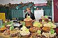Stand beim Bauernmarkt