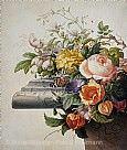 Herman Henstenburgh (1667-1726), Blumengebinde, 1700 - Wasser- und Deckfarben auf Pergament 340x286 mm, Städel Museum, Frankfurt am Main