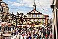 Frühlingsmarkt auf dem Marktplatz