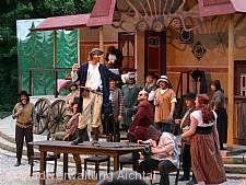 Aufführung des Naturtheaters Grötzingen.