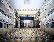 Das Rokokotheater in Schwetzingen