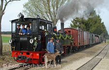 Öchsle-Bahn, mit Geißbock.