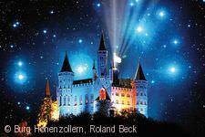 Sternschnuppen-Nächte auf der  Burg Hohenzollern.